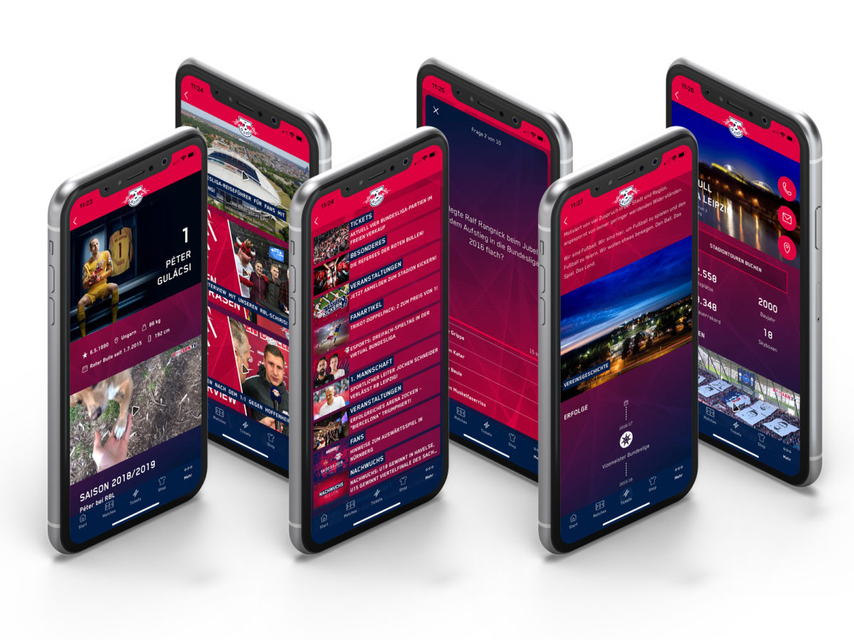 Rbleipzig App Screens